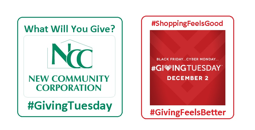 NCC and Giving Tuesday buttons