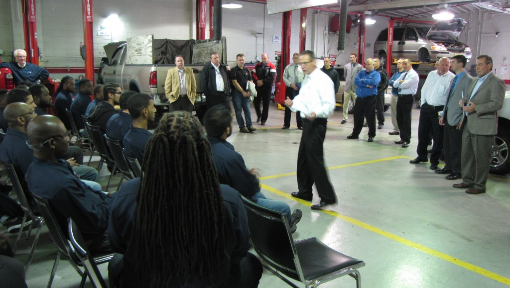 Ford looks to hire ncc auto students employers say we for Ford motors service center
