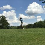 Golf Outing Mid Swing Hunt