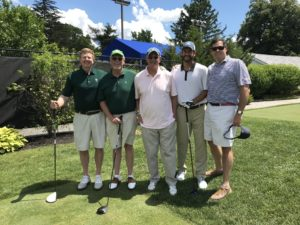 Tony Tolles golfing group.