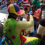 Parade 2017 Clown Facepainting 2