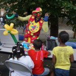 Parade 2017 Clown Waving