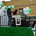 Parade 2017 DJ Lilman on Float