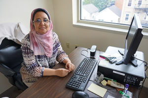 Seham Abouelhassan began as a certified medical assistant instructor for the New Community Workforce Development Center July 26.