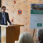 Federal Home Loan Bank of New York Community Investment Research and Outreach Specialist Brian Loeb talked about how his company was involved with A Better Life.