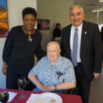 Former director of the HUD Newark Field office Diane Johnson, NCC Founder Monsignor William J. Linder and New Jersey Housing and Mortgage Finance Agency Executive Director Anthony Marchetta.