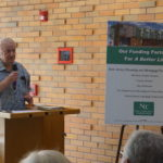 NCC Founder Monsignor William J. Linder says A Better Life, like all housing, is a sign of love not the condition of the residents.