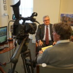 New Community Corporation CEO Richard Rohrman is one of the interview subjects for the video commemorating the corporation's 50th anniversary.