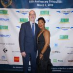 50th Gala Ben Galvez Donnette Burrowes-Williams by Step and Repeat