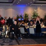 New Community Founder Monsignor William J. Linder received a standing ovation as CEO Richard Rohrman helped him make his way to the front of the ballroom at the New Community 50th Anniversary Gala March 3. The event honored NCC's five decades of service as well as Monsignor Linder for his vision for the organization.
