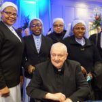 50th Gala Monsignor with Nuns