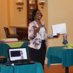 New Community Director of Mission Frances Teabout encourages employees to reduce stress and live life to the fullest.