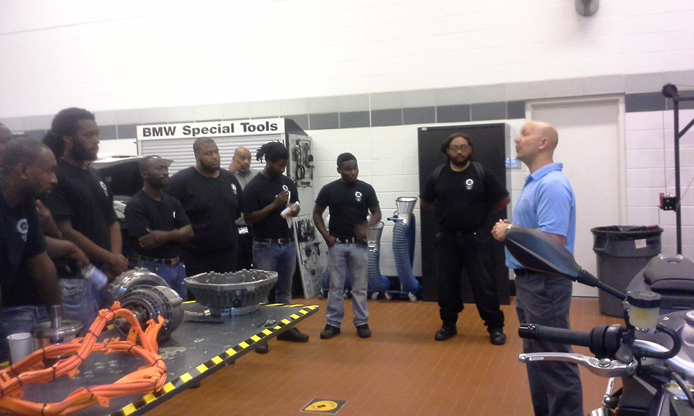 NCC Auto Trainees Visit BMW - New Community Corporation
