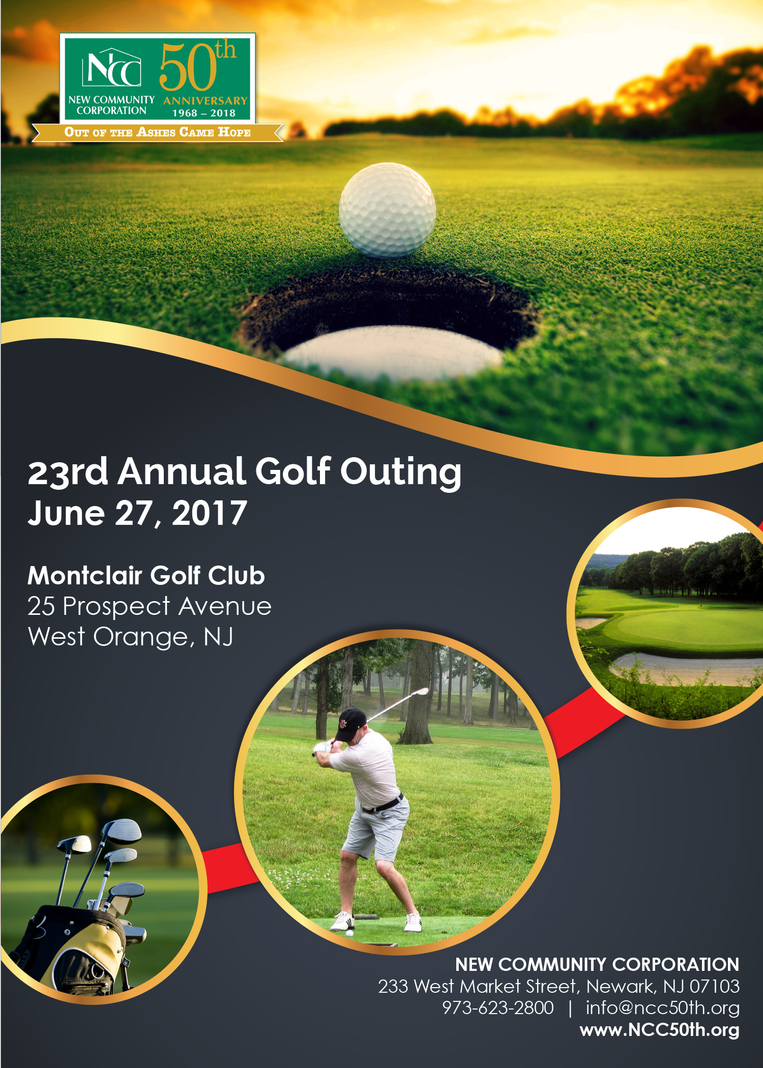 golf invitation 2017 cover