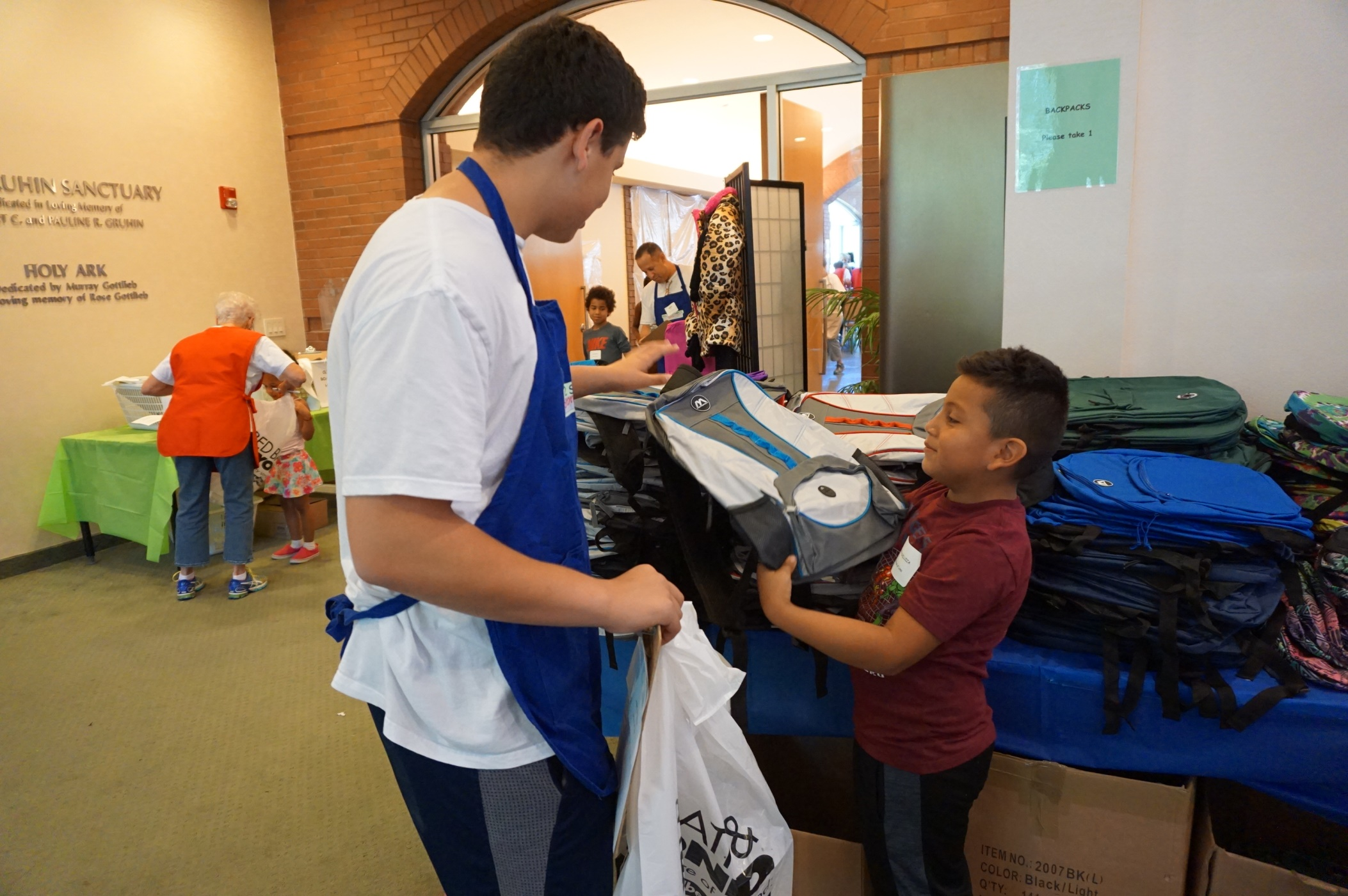 Hundreds Of Needy Students Receive Free Items For Upcoming School Year