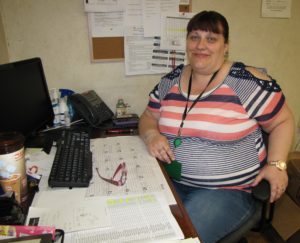 Anne Moran became a care coordinator at Associates June 1. Before that she worked as a Home Friend and volunteered at the Family Resource Success Center.