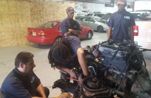 New Community Workforce Development Center offers several post-secondary programs, including Automotive Technician. Attend an Open House event May 22 to learn more. File photo.