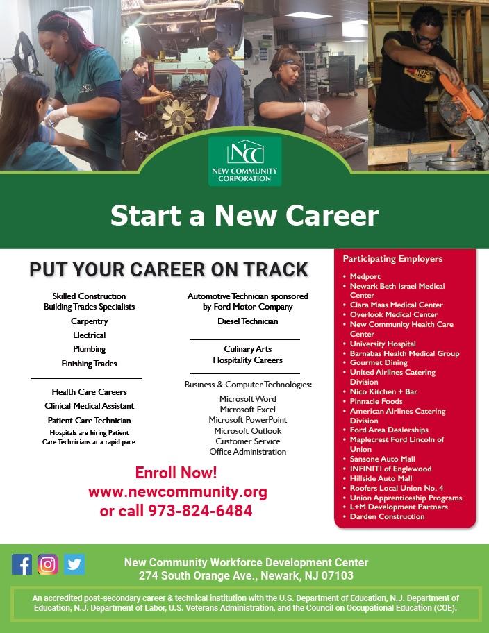 Workforce And Economic Development New Community Corporation