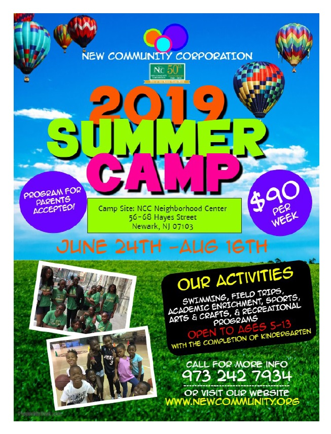 Attend NCC Summer Camp 2019!