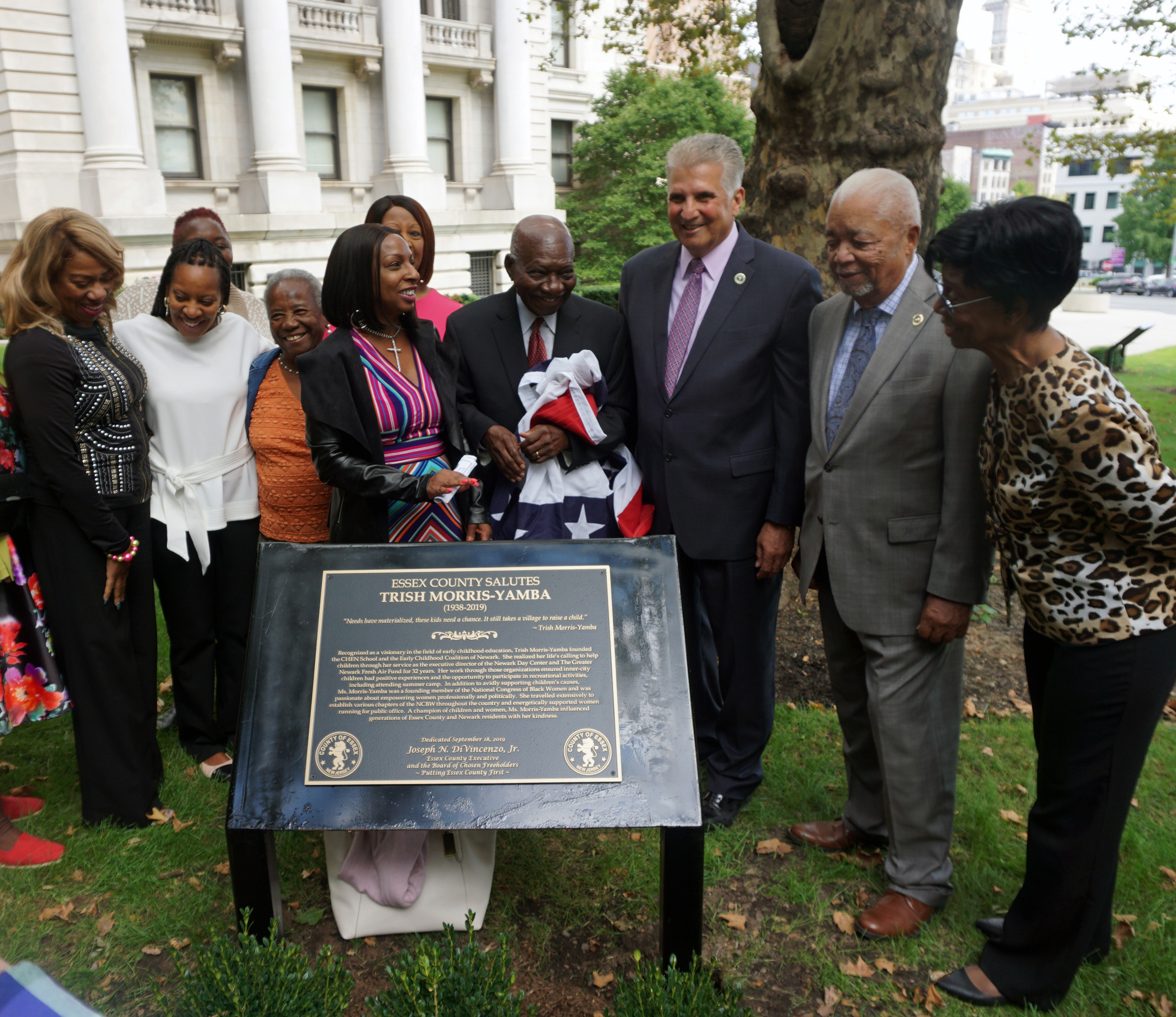 Essex County Honors Trish Morris-Yamba and Kenneth A. Gibson with Memorial Plaques Along Legends Way