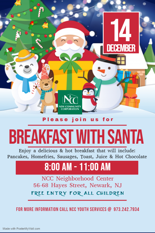 NCC Hosts Breakfast with Santa Dec. 14