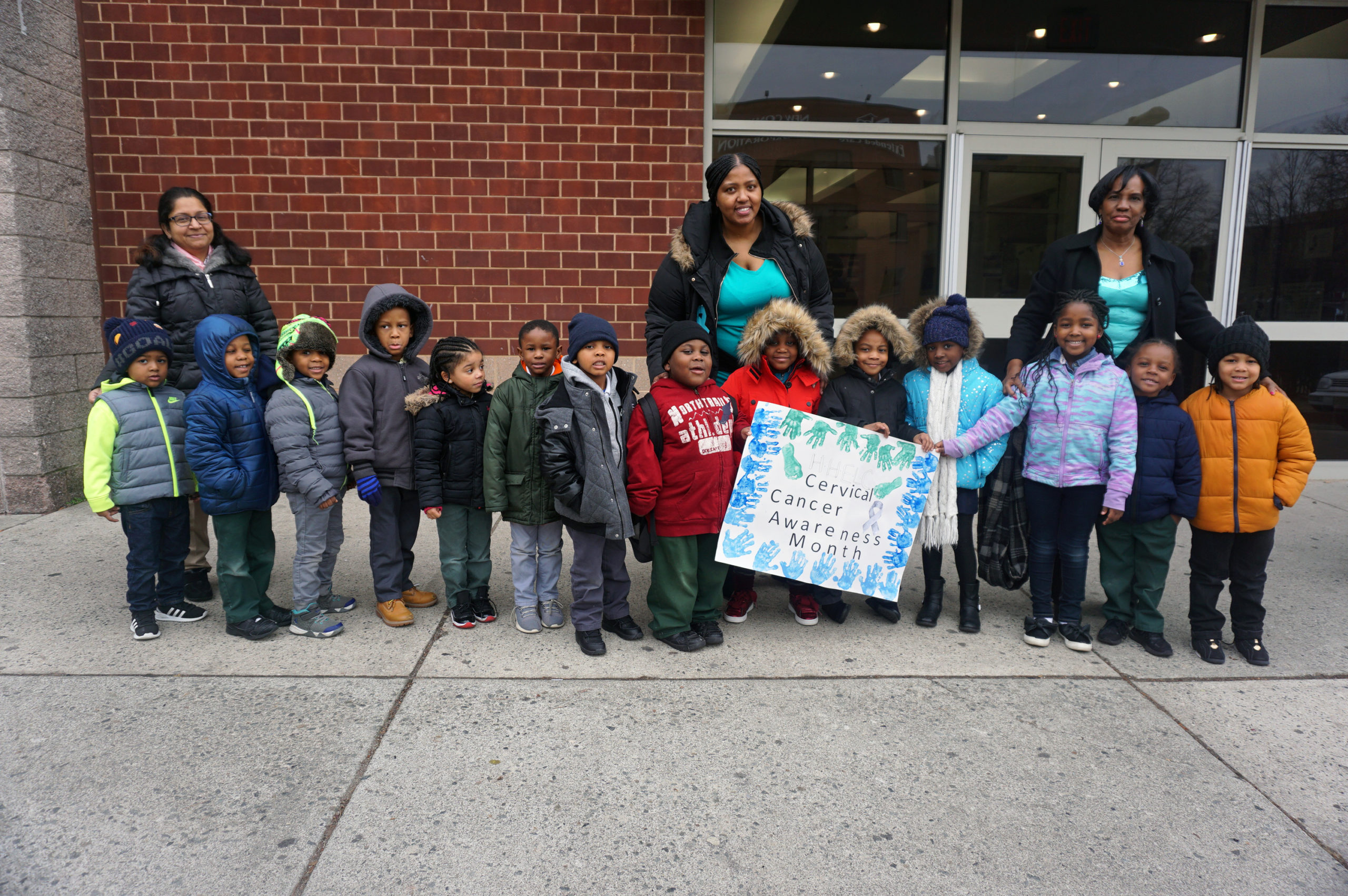 HHELC-Cervical-Cancer-March-Pre-K-Class