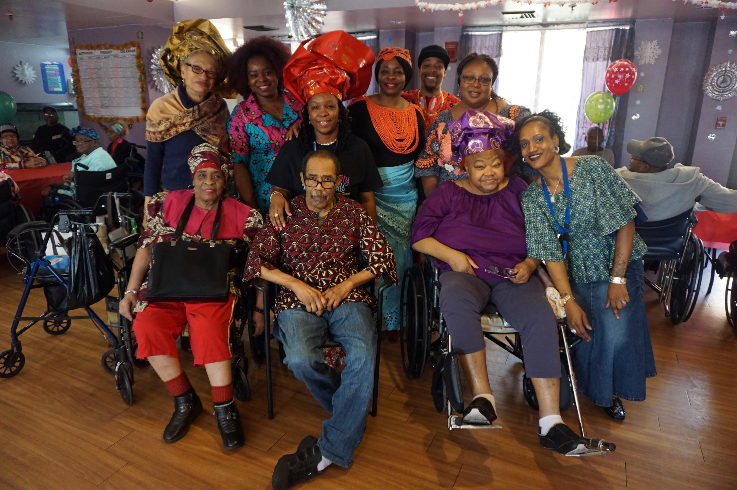 Extended Care Black History Celebration Group 1