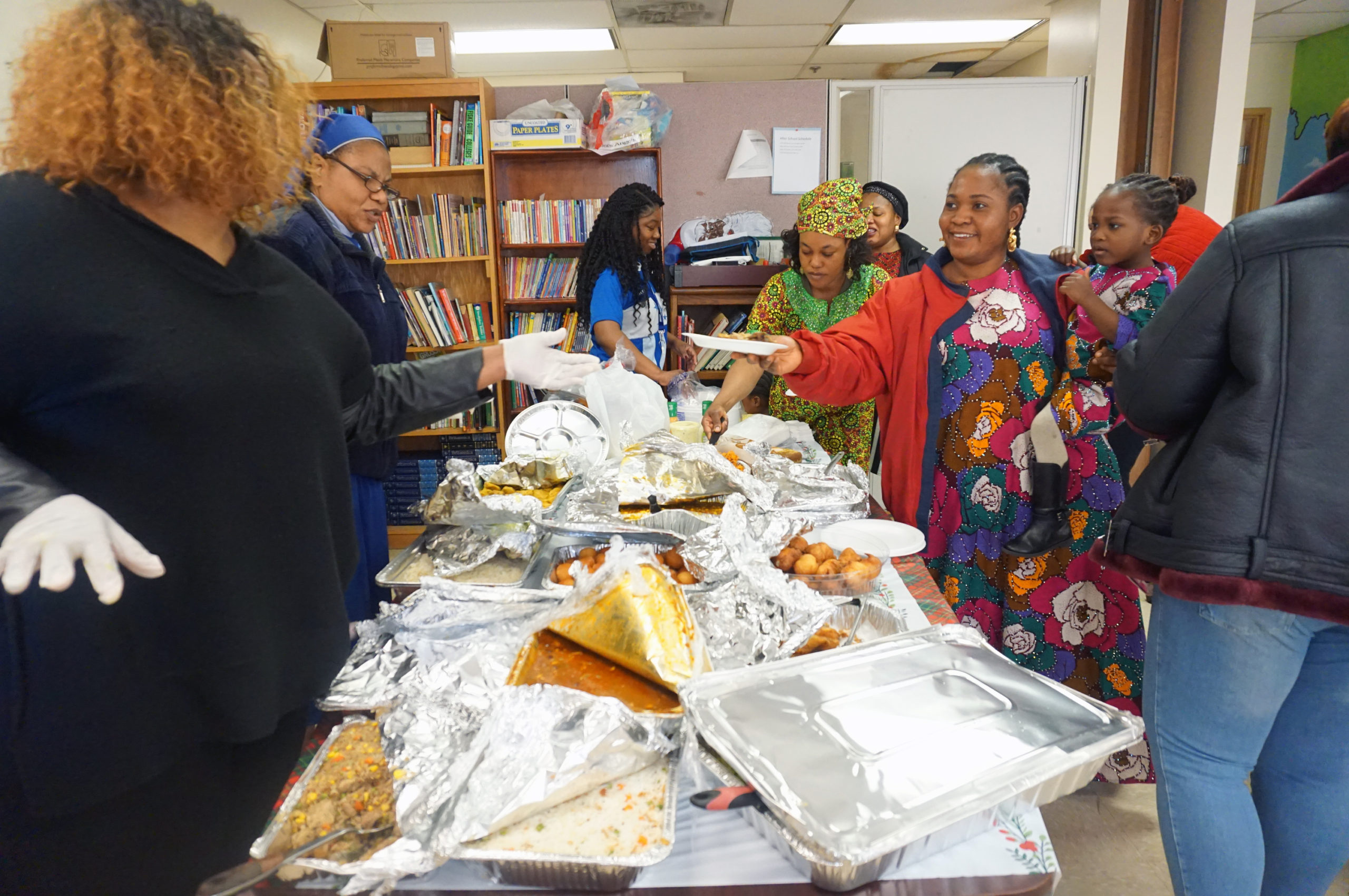 HHELC Cultural Diversity Day 2020 Getting Food