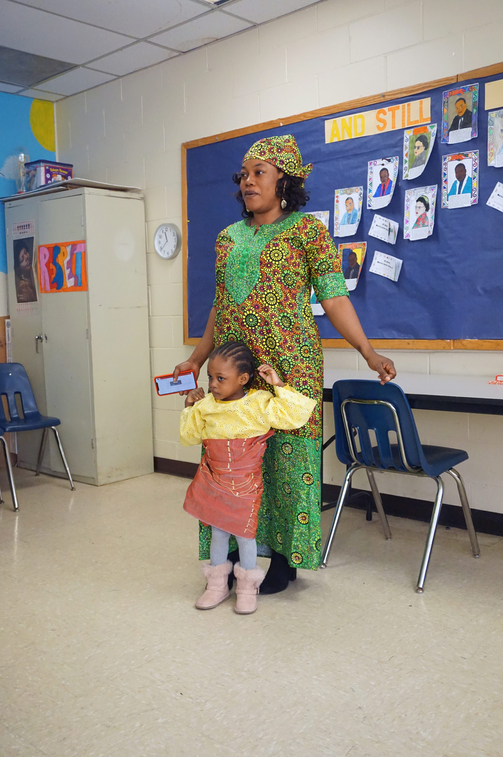 HHELC Cultural Diversity Day 2020 Mother in Green