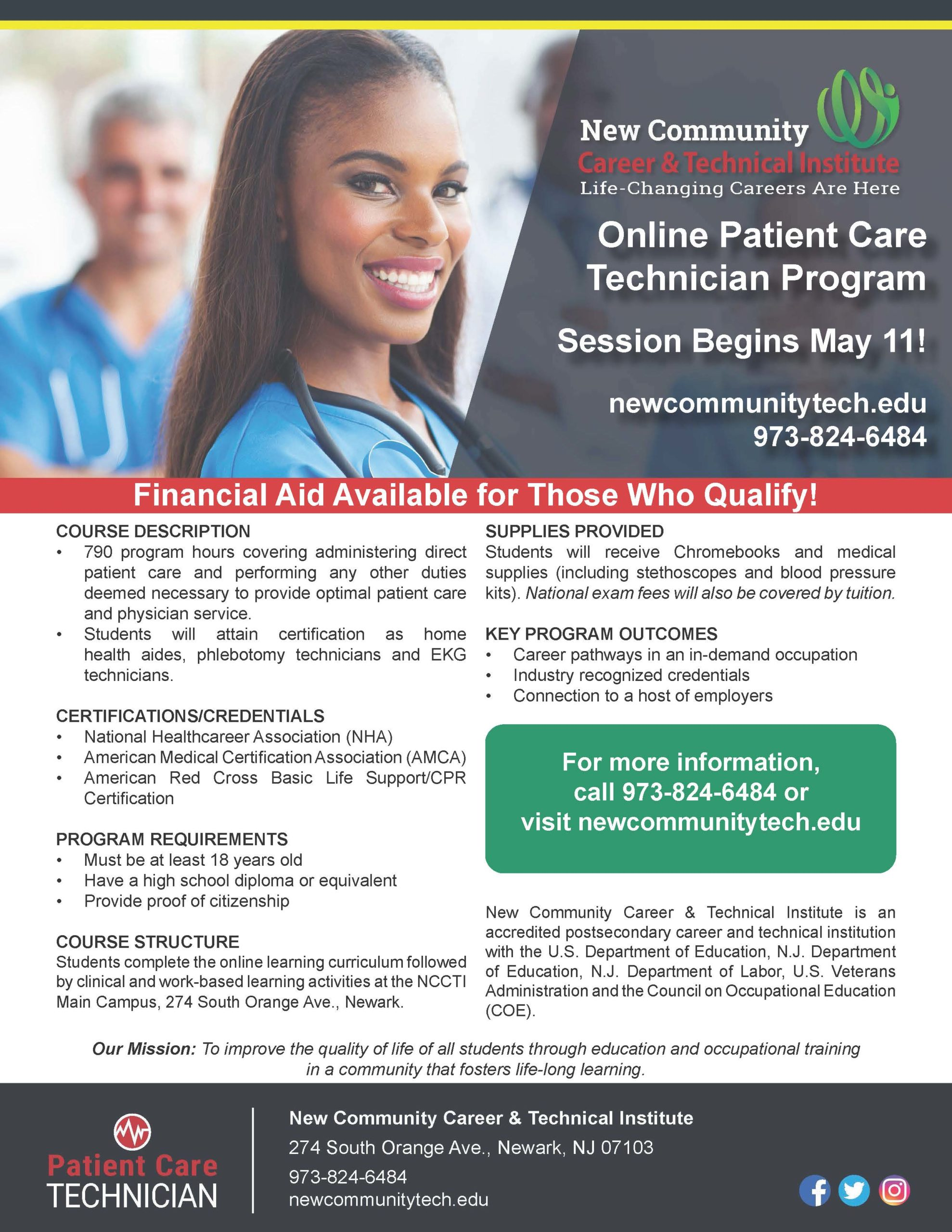 Online PCT Program Flyer 4-8-2020