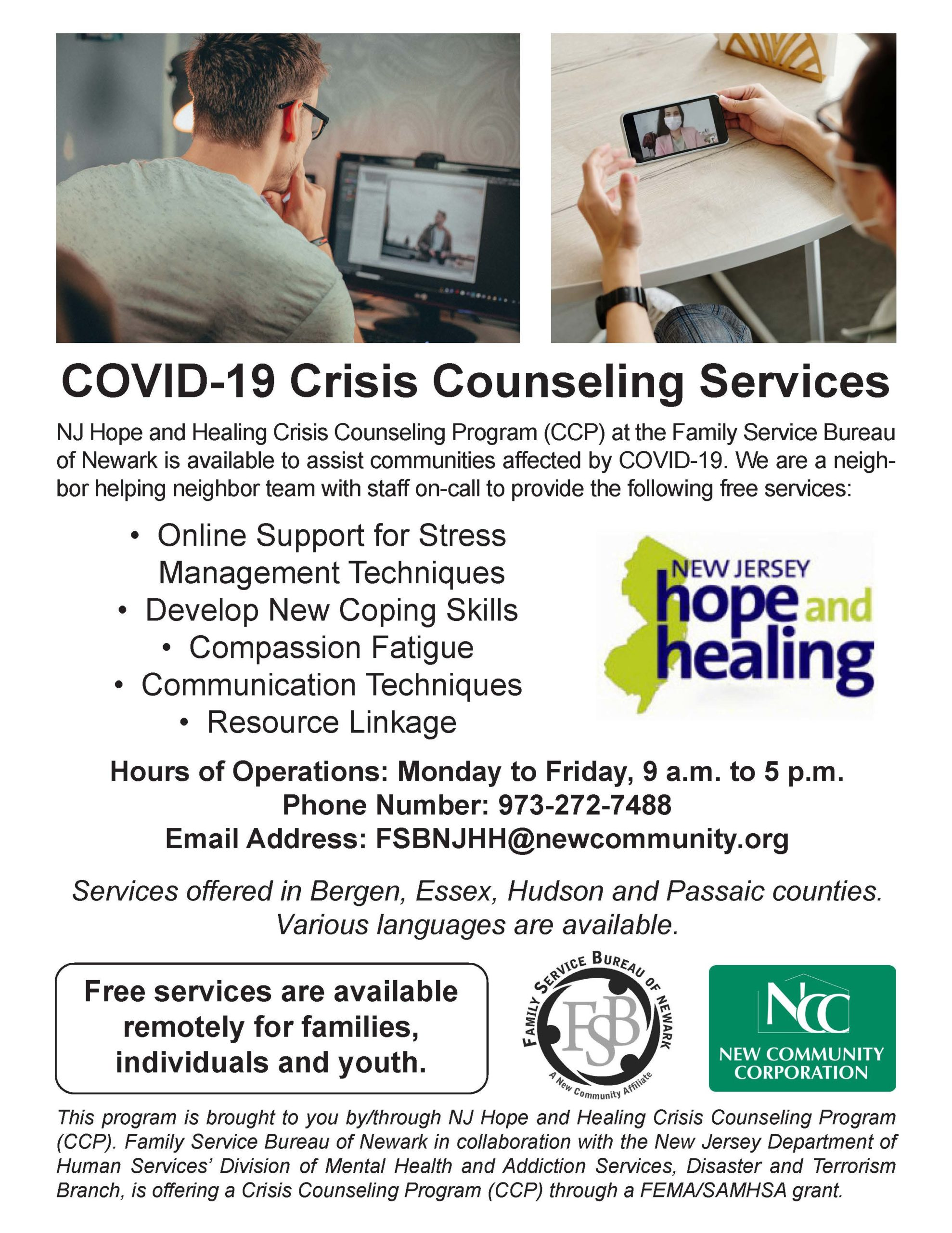 COVID Counseling Flyer Final 2