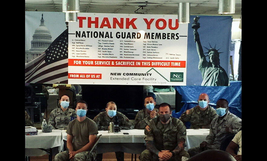 NJ National Guard Assists Extended Care During Pandemic