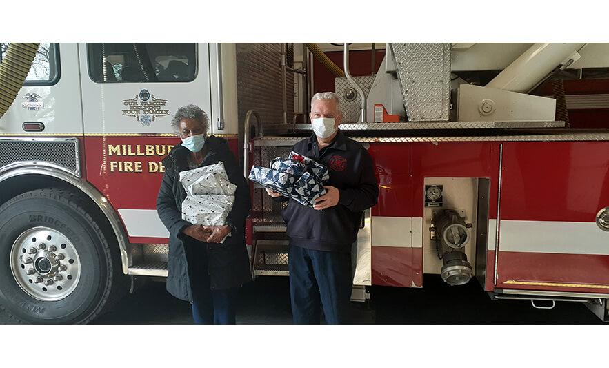 Madge Wilson Gift Donations Millburn Fire Department for Website