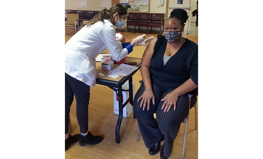 Orange Senior staff COVID-19 vaccination for Web